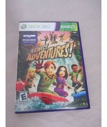 Kinect Adventures (Microsoft Xbox 360, 2010) Complete Case Manual - $10.22