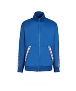 A|X Armani Exchange Men's Polyester Tricot Zip Up Jacket, True Blue, XXL - $59.39
