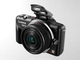 Panasonic Lumix DMC-GF3X Digital Camera w/ 14-42mm Power Zoom Lens - $259.95+