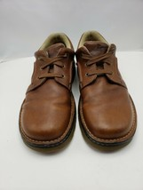 Dr. Martens Brown Leather Low Top 14M 3 eye Lace Up Casual Oxford AW004 ... - $22.72