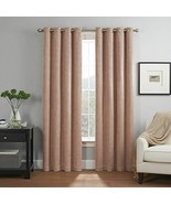 "eclipse 2-Pack 50"" x 63""Absolute Zero Dean 100% Blackout Window Curtains - $49.99"