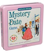 Mystery Date Classic Board Game with Nostalgic Tin Case - $62.88