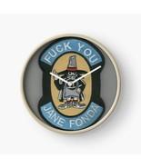 USAF Fu k You Jane Fonda Phantom II F-4 Wall Clock - $69.29