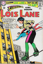 Superman's Girlfriend Lois Lane Comic Book #66, DC Comics 1966 VERY FINE - $47.33