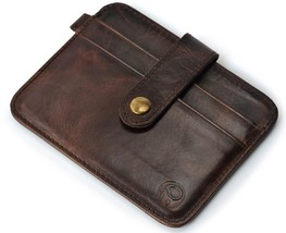 genuineFamous Luxury Slim Wallet Men Purse Male clamp Money Clip walet p... - $19.30