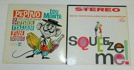 LP Record Lot PEPINO THE ITALIAN MOUSE BY LOU MONTE & Dick Contino Squee... - $19.99