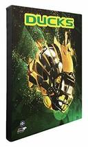 NCAA Oregon Canards Beau Galerie Qualité, Haut Résolution Toile, 40.6cm x 50.8cm