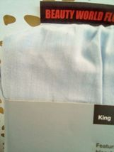 Made By Design Solid Easy Care Pillowcase Set (King) Light Blue NEW! STORE image 5