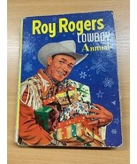 """1950s """"ROY ROGERS COWBOY ANNUAL"""" CHILDRENS LARGE THICK ILLUSTRATED HARDB... - $6.40"""