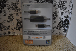 NEW Belkin Easy Transfer Cable for Windows 7 8ft 2.4m USB 2.0 - $17.96