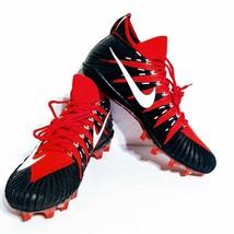 Nike Alpha Menace Elite TD Football Cleats - 877140-610 - Red Black - Size: 16 - $38.69