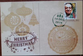 World Boxing Council (WBC) Merry Chirstmas & A Happy New Year Dec 14 201... - $3.95
