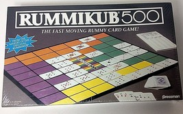 Vtg Pressman Rummikub 500 Rummy Card Game FACTORY SEALED 1992 Ages 8 to Adult - $23.75