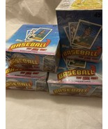Lot of 4 1989 Topps Baseball The Real One! Factory Sealed 36 Packs per box - $79.15