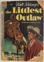 Four Color Comics # 609 Dec 1954 Walt Disney's The Littlest Outlaw Ga: 0.5 Poor - $5.00