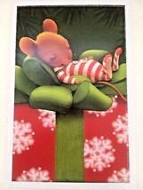 Hallmark Mice Christmas Cards Cute Mouse Asleep on Gift Set of 8 Unused  - $17.99