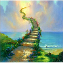 Art Oil Painting Heave 40*50cm picture canvas No Frame - $25.99+