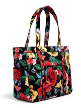Vera Bradley Signature Cotton Get Carried Away Tote, Havana Rose