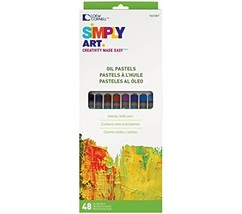 Loew-Cornell 1021087 Simply Art Oil Pastels - $11.87