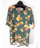LuLaRoe Irma Womens Shirt Size XL Multicolor New with Tags Q - $16.99