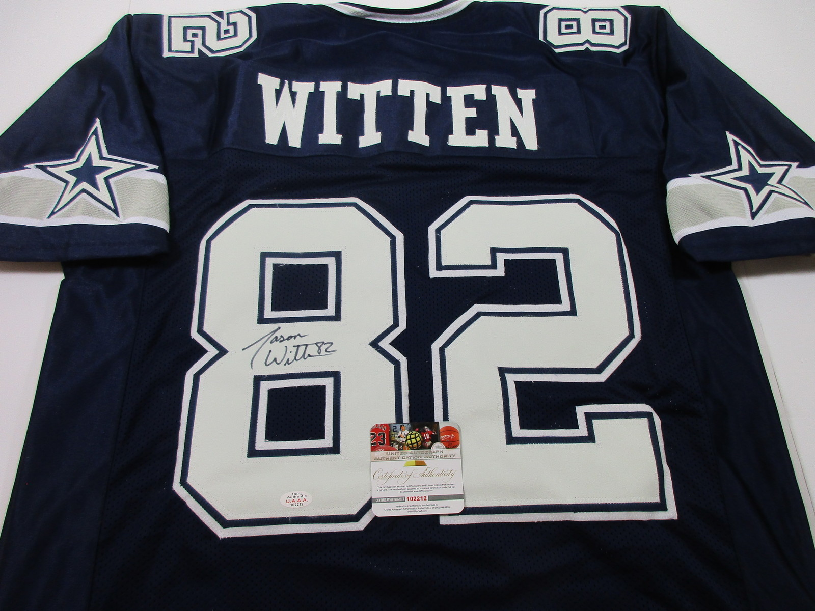 purchase cheap 8efc5 7e2a0 Jason Witten - Dallas Cowboys - Hand Signed and 10 similar items
