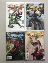 Lot of 9 Spider-Man Quality of Life (2002) #1-4 Adventures (1994) from #1-6 - $21.78