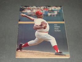 Cincinnati Reds Scorebook 1977 Reds vs Phillies [Unmarked] - $9.00