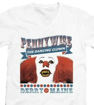 IT movie Pennywise T-shirt horror movie distressed graphic cotton white tee image 2