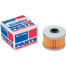 Parts Unlimited Oil Filter Honda XR 200R (1984-2002)  NX250 (1988-1990) - $8.76