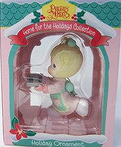 Precious Moments Home for the Holidays Collection Girl with Bag of Toys - $9.72