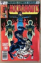 MICRONAUTS #11 (1979) Marvel Comics VG+ - $9.89