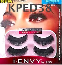 I Envy By Kiss Eyelashes Hollywood 38 KPED38 Double Pack Eyelashes - $4.54
