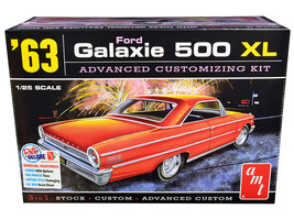 Model Kit 1963 Ford Galaxie 500 XL 3-in-1 Kit 1/25 Scale Model by AMT  - $48.87