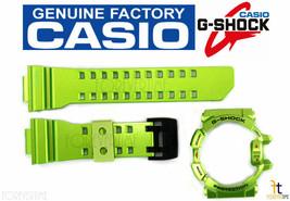 CASIO G-Shock G'Mix GBA-400-3B Original Green Rubber Watch BAND & BEZEL ... - $69.95