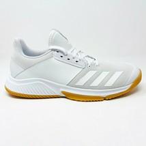 Adidas Crazyflight Team Womens Volleyball Shoe White Gum D97700 - $64.95