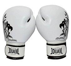 PANDA SUPERSTORE White Leo Kids MMA Boxing Mitts Training Gloves for Muay Thai K