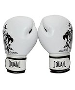 PANDA SUPERSTORE White Leo Kids MMA Boxing Mitts Training Gloves for Mua... - $40.09