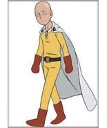 One Punch Man Anime Saitama Walking On White Refrigerator Magnet NEW UNUSED - $3.99