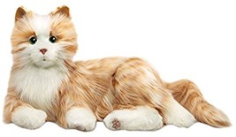 Pet Cat Lifelike Fur Stuffed Animal Companion Interactive Robotic Authen... - $133.64