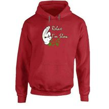 Relax I'm  Slow 420 Canna Hoodie image 9