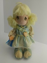 """Vtg Plush Precious Moments 1990 Limited Edition Applause Doll 15"""" w/ Sta... - $7.99"""