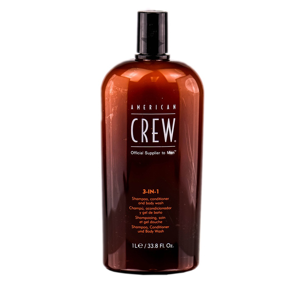 American Crew 3-IN-1 Shampoo Conditioner And Body Wash 15.2oz