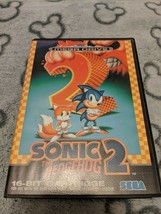 Sonic The Hedgehog 2 - PAL - Sega Megadrive Game COMPLETE VGC FAST DISPATCH - $7.45