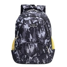 Two Way Zipper Close Orthopedic Type School Backpack With Bottle Side Po... - $26.96