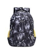 Two Way Zipper Close Orthopedic Type School Backpack With Bottle Side Po... - £20.38 GBP