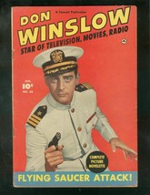 DON WINSLOW #65 1951-FAWCETT-FLYING SAUCER ATTACK-RARE FN - $94.58