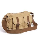 "Vagarant Traveler 14"" Casual Boat Style Canvas Messegner Bag C53.KK - $59.00"