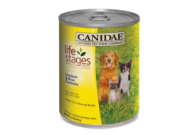 CANIDAE Life Stages Canned Dog Food for Puppies Adults and Seniors 12 Pack - $32.51