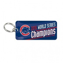 Chicago Cubs Key Ring - Glossy - 2016 World Series Champs**Free Shipping** - $14.55