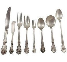 Chateau Rose by Alvin Sterling Silver Flatware Set For 12 Service 101 Pi... - $4,600.00